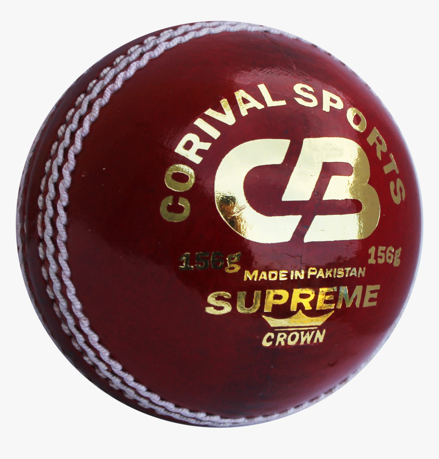 Cb Supreme Crown Leather Cricket Ball - Leather Cricket Ball, HD Png Download, Free Download