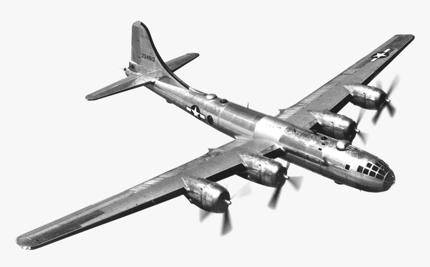 Png World War - B 29 Bomber Transparent, Png Download, Free Download