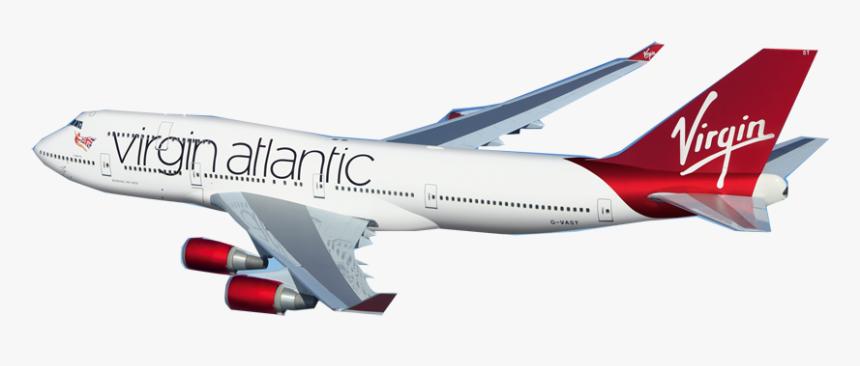 Virgin Atlantic Flight Png - Virgin Atlantic Plane Png, Transparent Png, Free Download