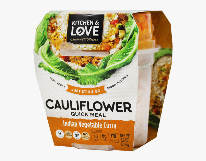 Transparent Curry Png - Kitchen And Love Cauliflower Quick Meal, Png Download, Free Download