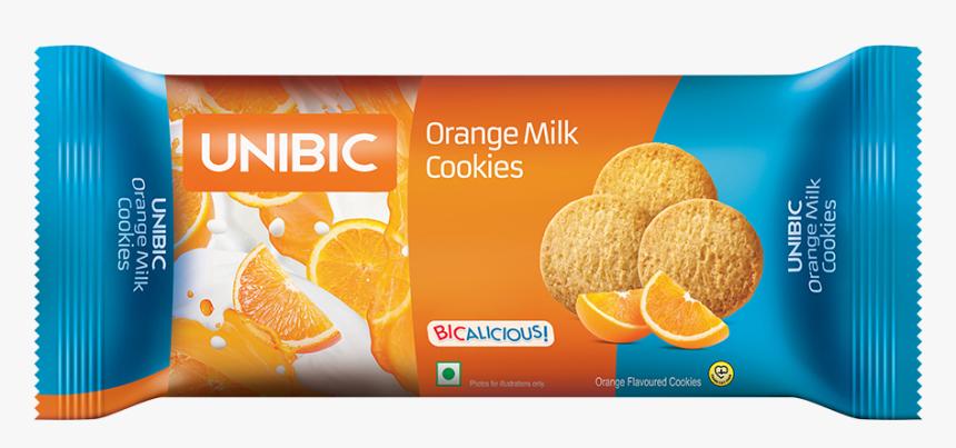 Unibic Orange Milk Cookies 100gm, HD Png Download, Free Download