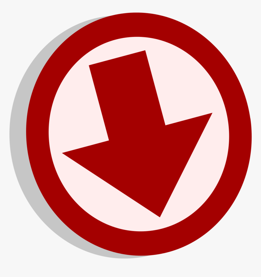 Symbol Arrow Down - Arrow Down Symbol, HD Png Download, Free Download