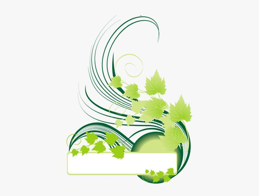 Floral Png Design Blue Green, Transparent Png, Free Download