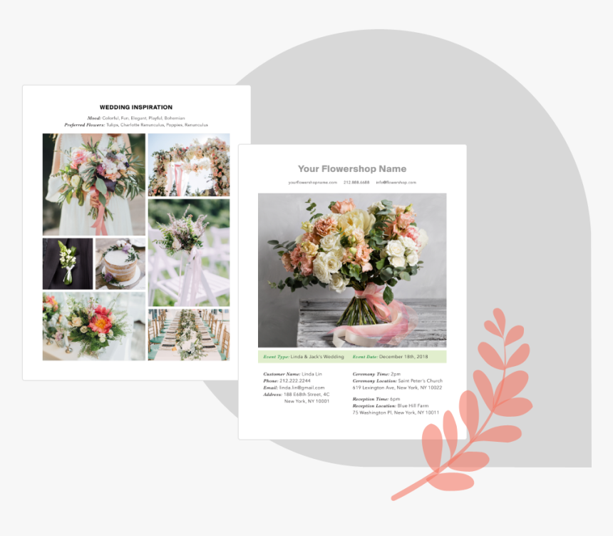 Inspiration Page Bloomsby - Bouquet, HD Png Download, Free Download