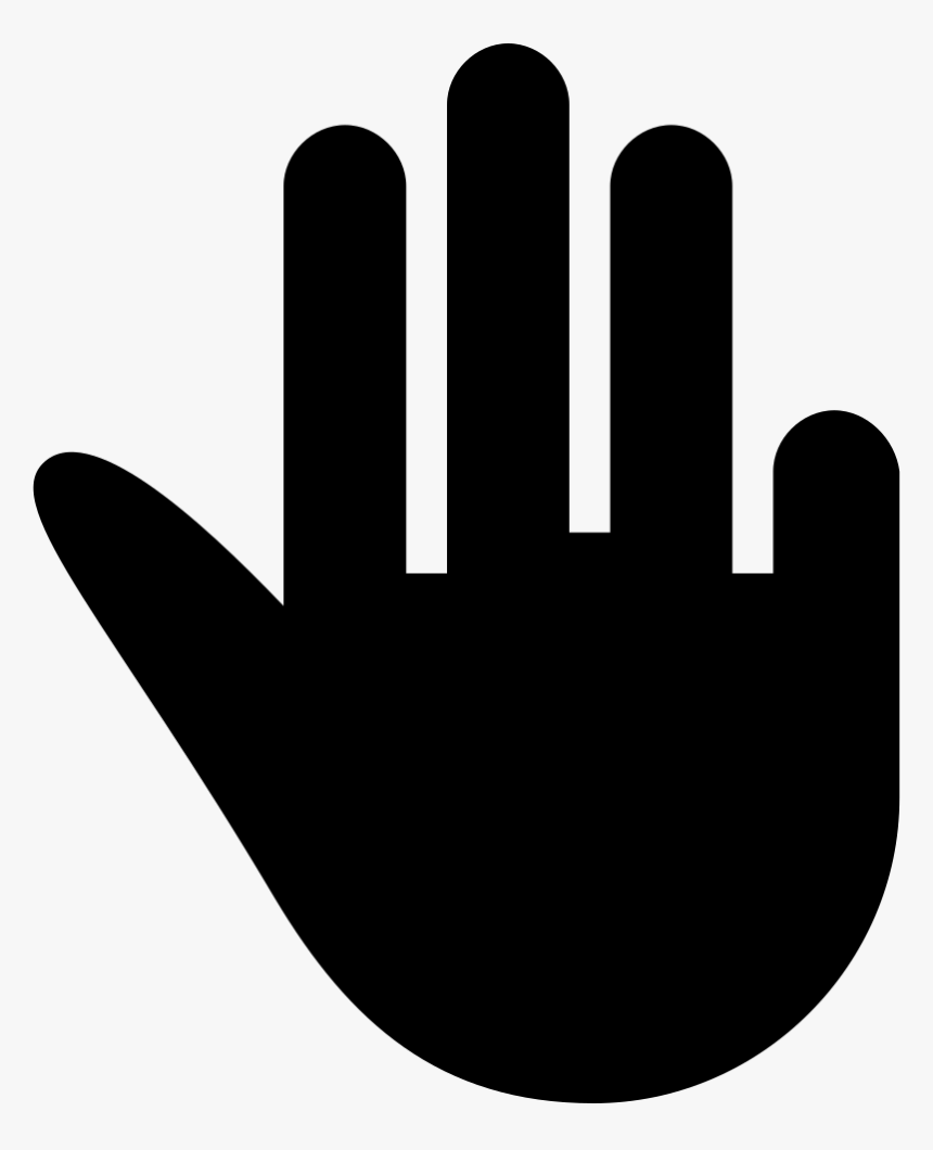 Three Fingers Extended Black Hand Symbol Hand Png Icon Transparent Png Kindpng Select the size of photo. hand png icon transparent png