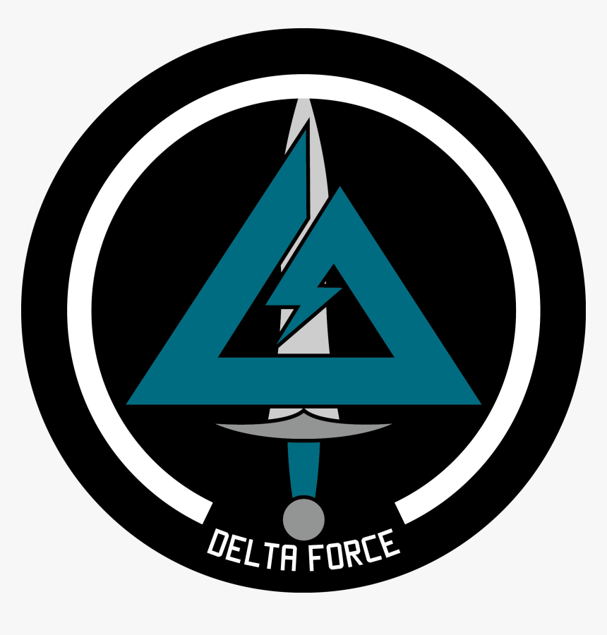 Clip Art Logos Official To Pin - Delta Force Logo Transparent, HD Png Download, Free Download