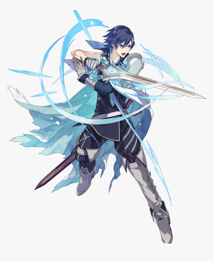 Full Attack Robin - Fire Emblem Heroes Chrom, HD Png Download, Free Download