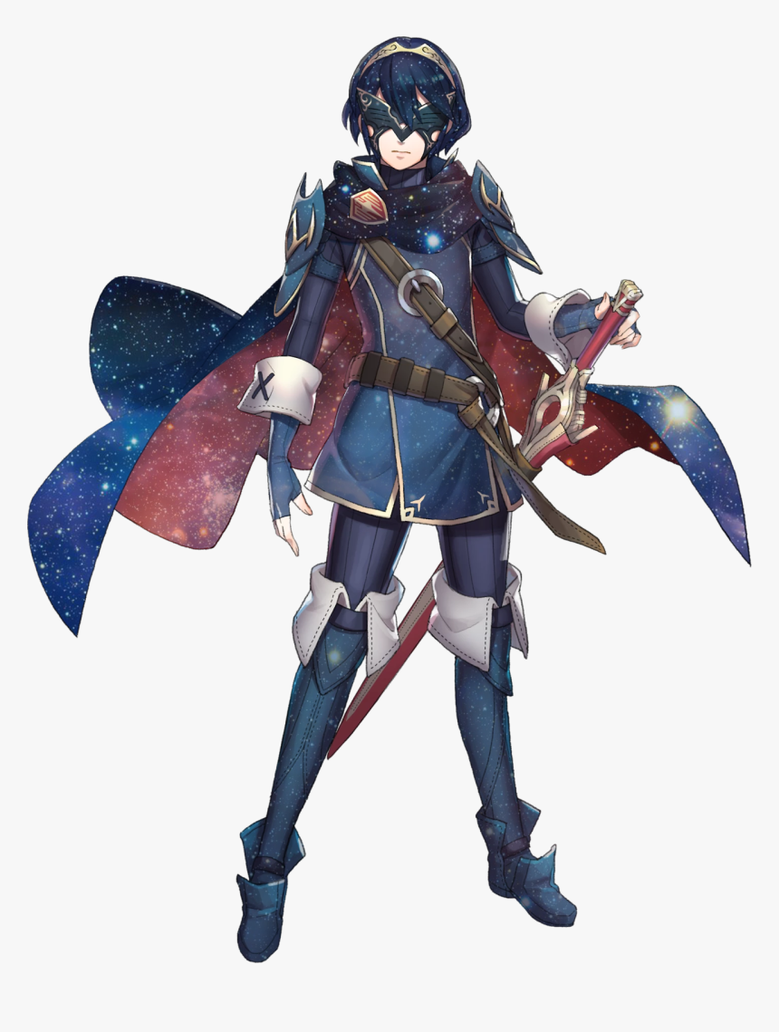 Is Gay For Lucina* - Masked Lucina Fire Emblem, HD Png Download, Free Download