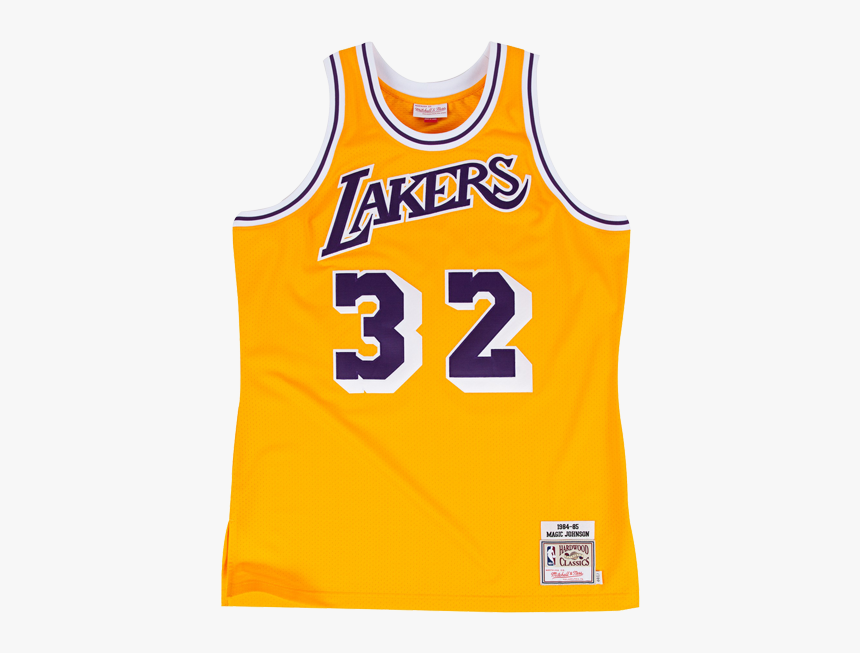 Wilt Chamberlain Lakers Jersey, HD Png Download - kindpng