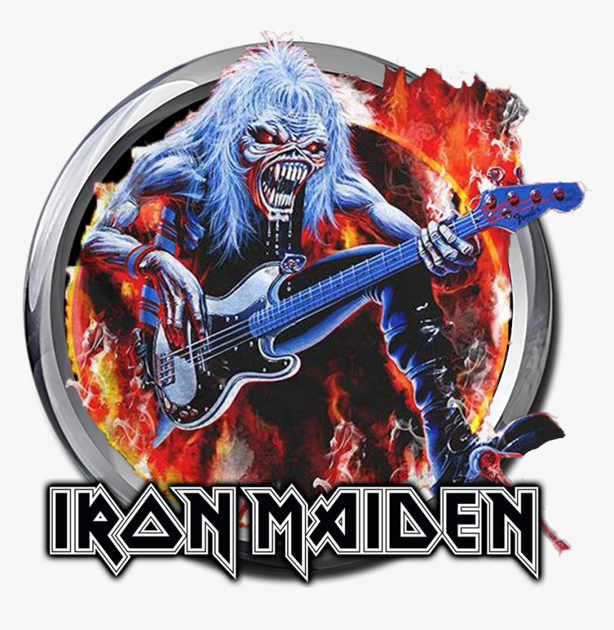 Iron Maiden T Shirt Eddie Bass, HD Png Download, Free Download