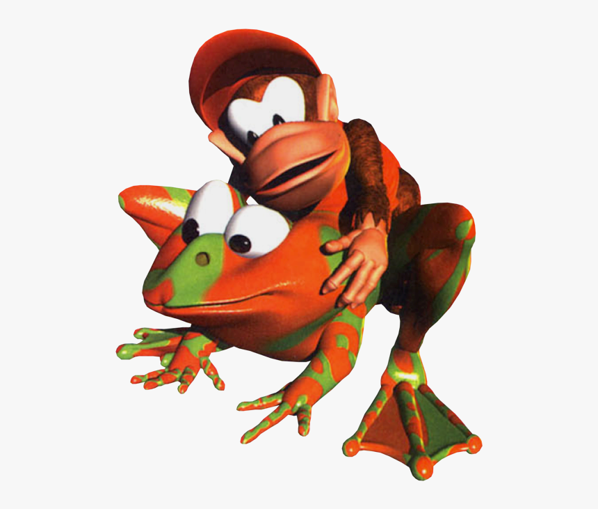 Winky The Frog Donkey Kong, HD Png Download, Free Download