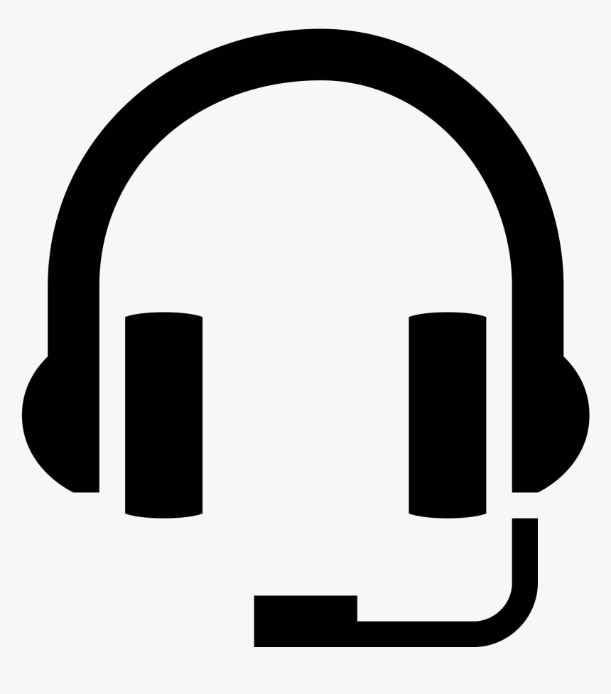 Telephone Clipart Telephone Headset - Head Set Icon Png, Transparent Png, Free Download