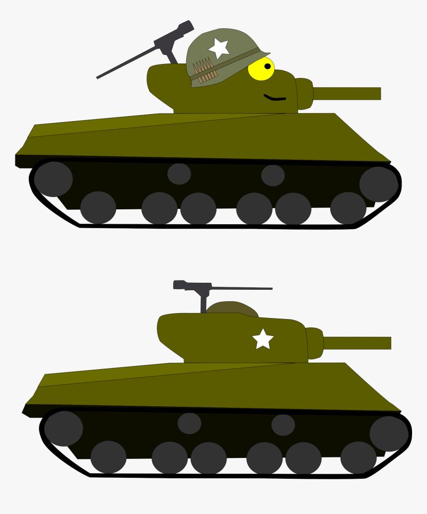 M4 Sherman Clip Arts - M4 Sherman Tank Clipart, HD Png Download, Free Download