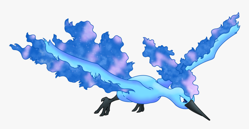 I Might've Overdid It With The Shiny Moltres Redesign - Legendary Fire Bird Pokemon, HD Png Download, Free Download