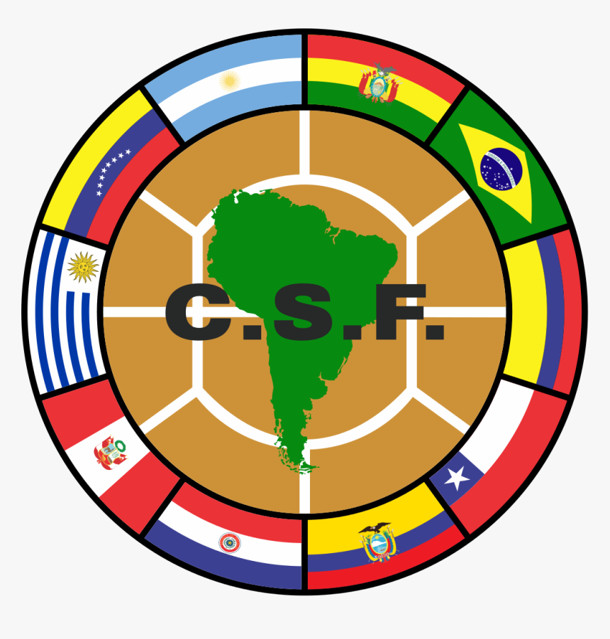 South American Soccer Logo, HD Png Download, Free Download