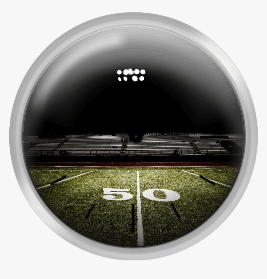 Football Field At Night - American Football Field Png, Transparent Png, Free Download
