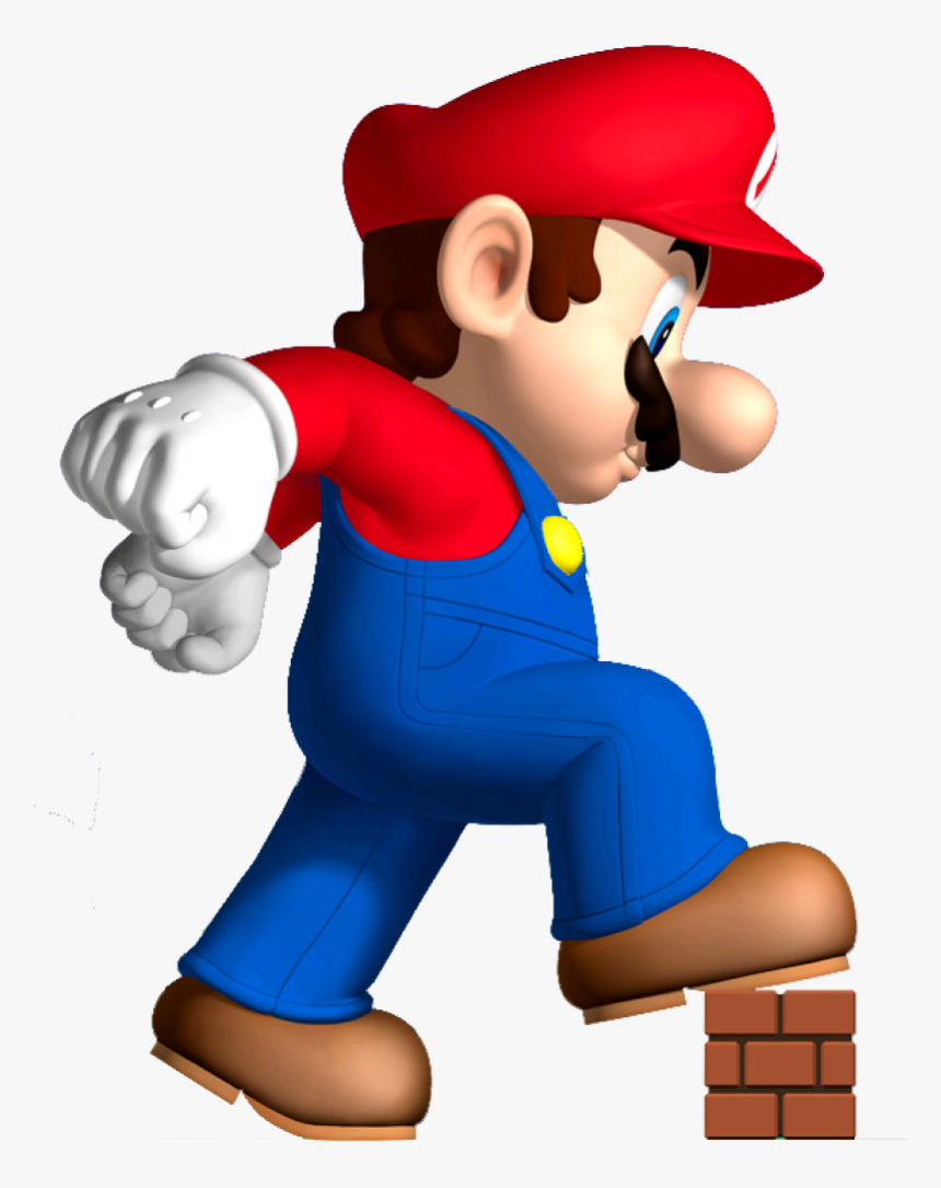 Mario Png New Super Mario Bros Mega Mario Transparent Png Kindpng