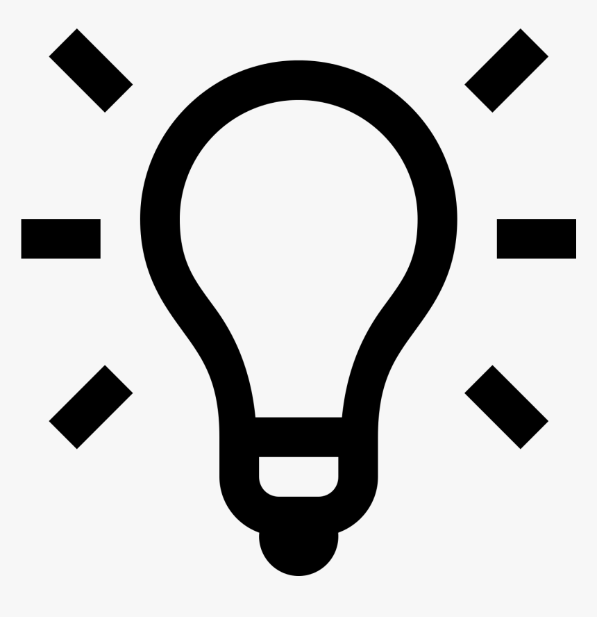 Idea Icon Png, Transparent Png, Free Download