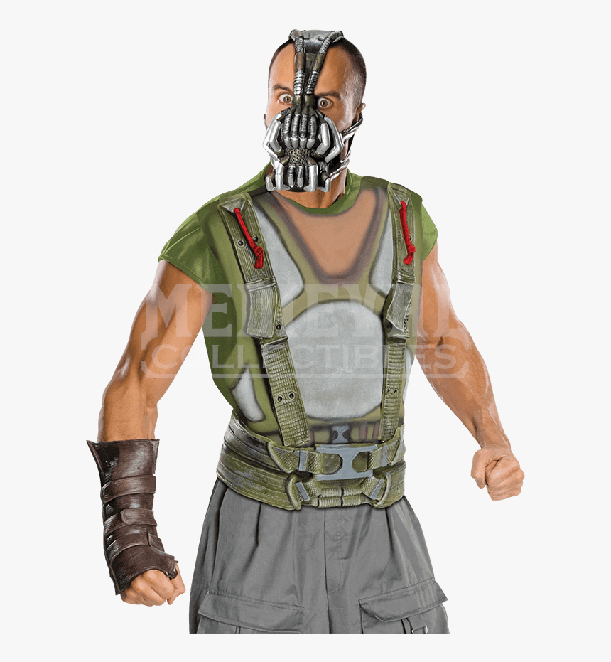Action Protective Equipment,fictional Character,ballistic - Bane Costume, HD Png Download, Free Download