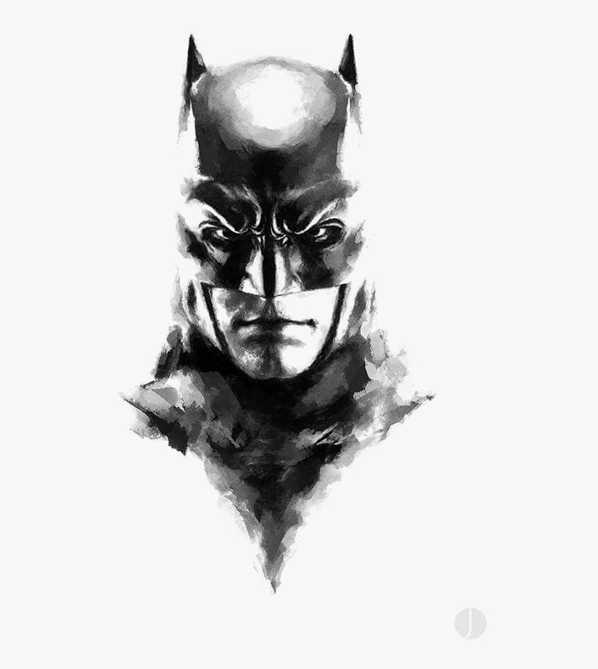 Batman Joker Bane Art Batman Black And White Drawing Hd Png Download Kindpng