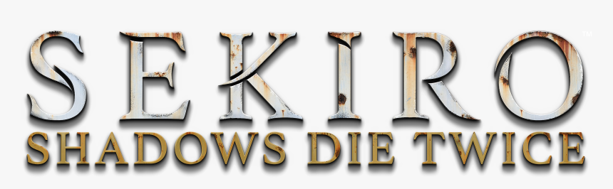 Transparent Dark Souls You Died Png - Sekiro Shadows Die Twice Font, Png Download, Free Download