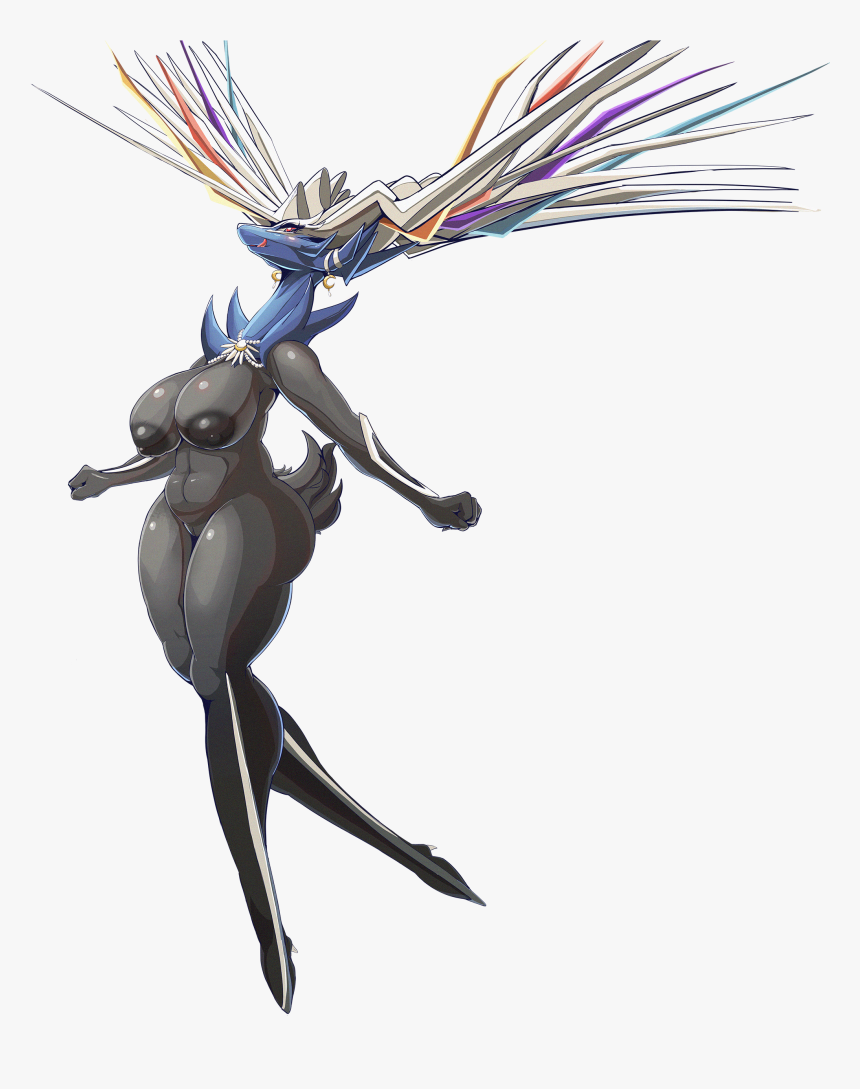 Velverin - Anthro Female Xerneas, HD Png Download, Free Download