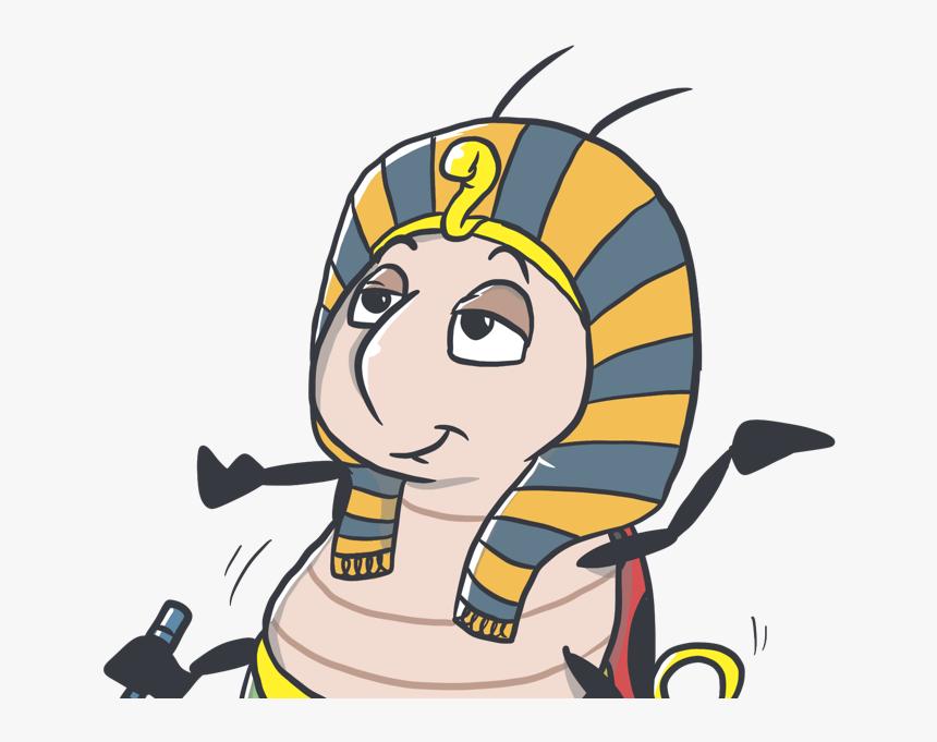 Pharaoh Bug Happy Dance Egipt Illustration Cartoon Cartoon Hd Png Download Kindpng