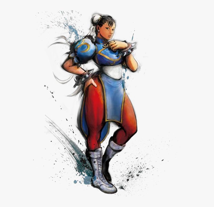 Chun Li Street Fighter 5 Png Chun Li Street Fighter 4
