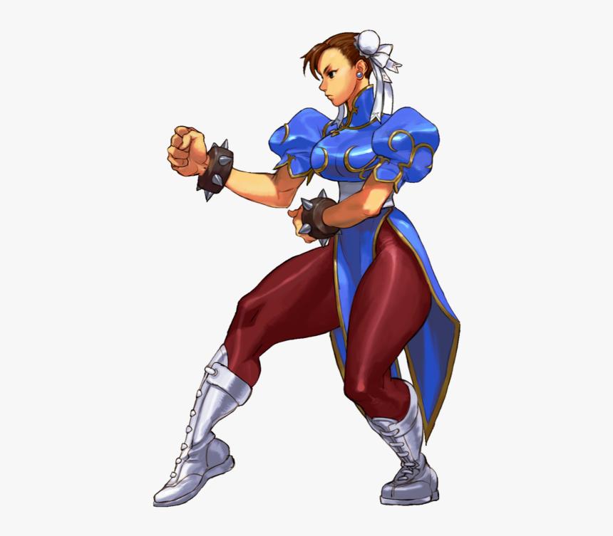 Street Fighter Iii 3rd Strike Chun Li Hd Png Download Kindpng