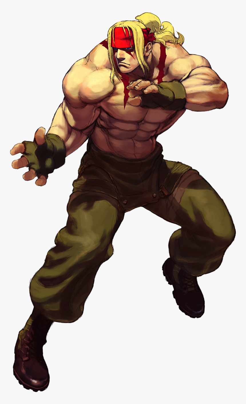 Street Fighter Iii Alex Street Fighter Hd Png Download Kindpng