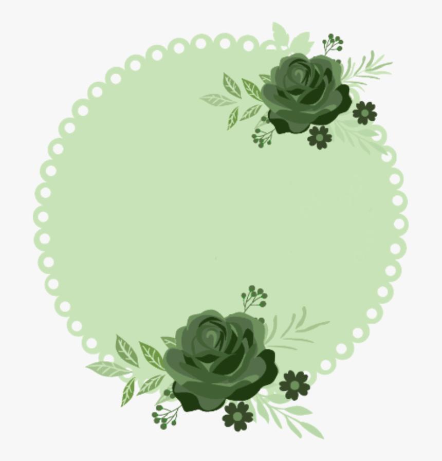 #pattern #template #background #green #flower #circle - Circle Green Flower Background, HD Png Download, Free Download