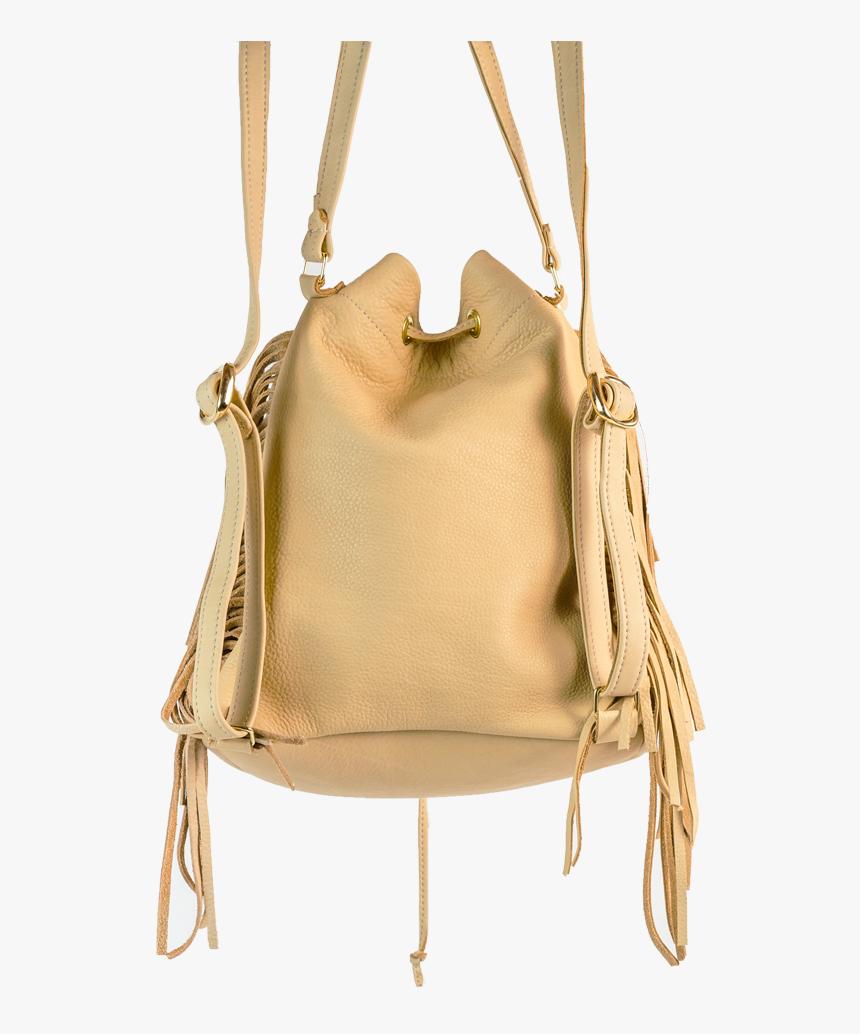 Backpack Dutch Braid With Fringe - Shoulder Bag, HD Png Download, Free Download