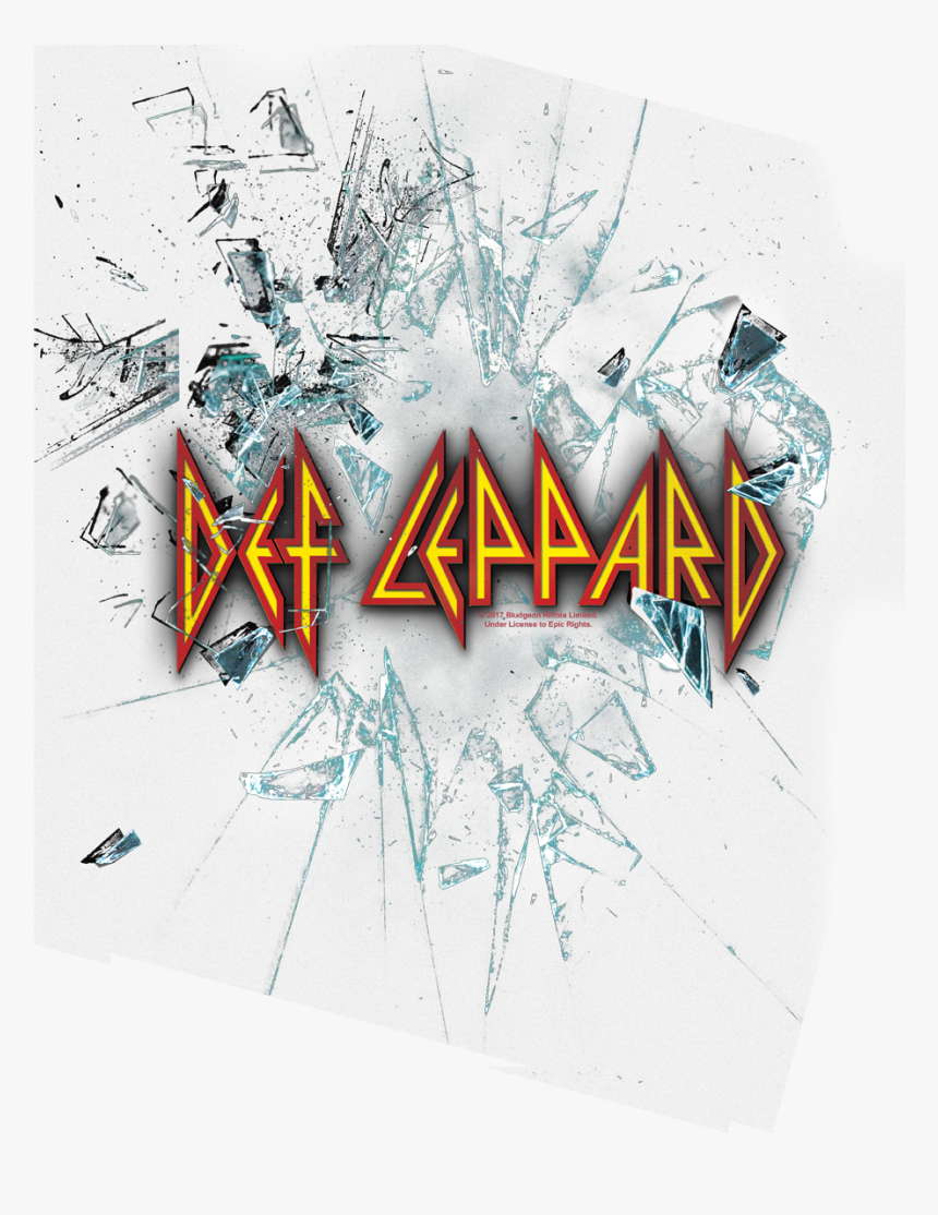 Def Leppard Shattered Glass Shirt, HD Png Download, Free Download