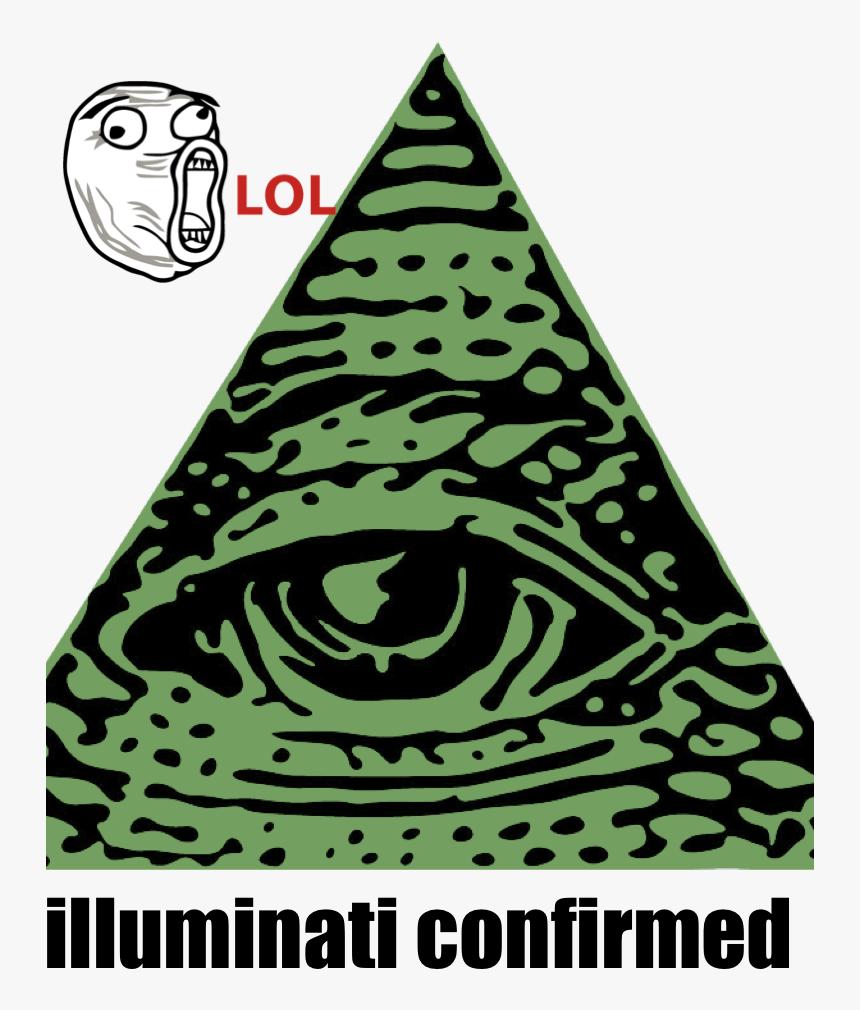 Illuminati Clip Art Eye Of Providence Secret Society - Illuminati Sticker, HD Png Download, Free Download