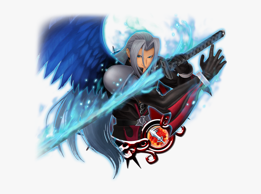 Sephiroth [ex] - Kingdom Hearts Union X Sephiroth Ex, HD Png Download, Free Download