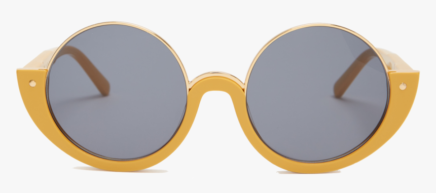 Marni, Crop Round Frame Sunglasses, Retro, Cool, Thedailydeb, - Png Marni Sunglass, Transparent Png, Free Download