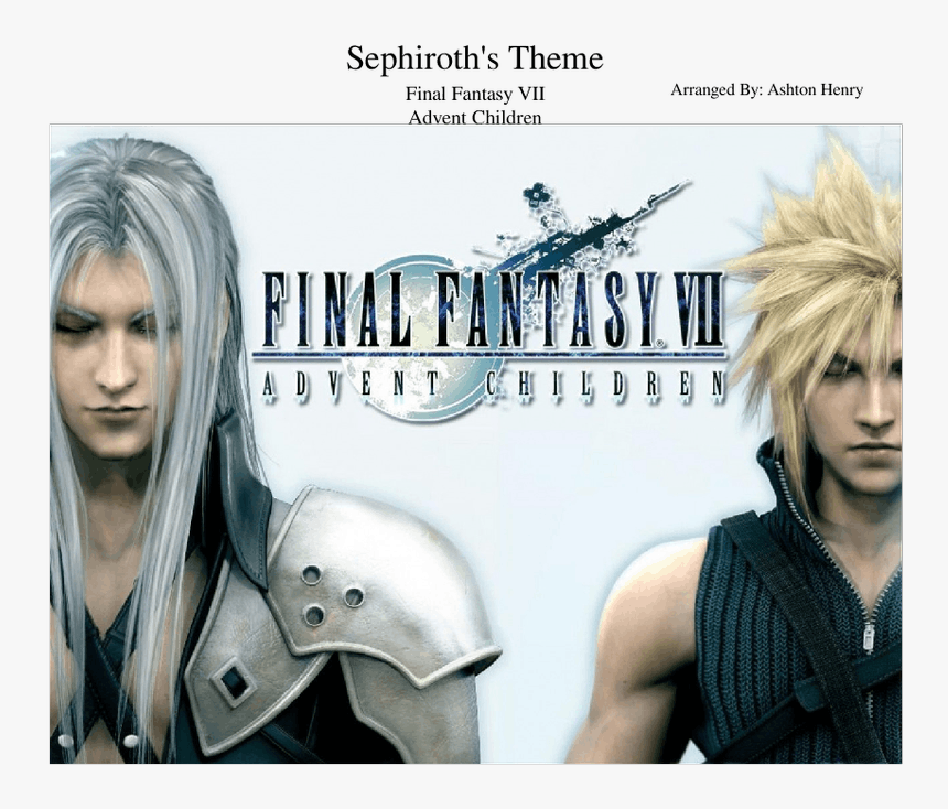 Final Fantasy Wallpaper Sephiroth Hd Png Download Kindpng