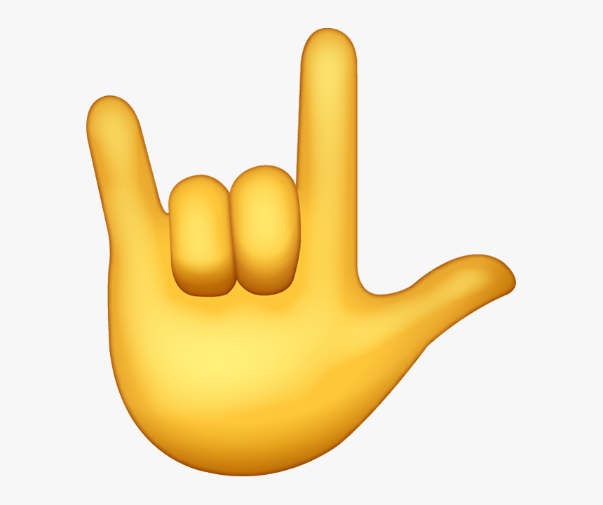 Rock Hand Emoji, HD Png Download, Free Download