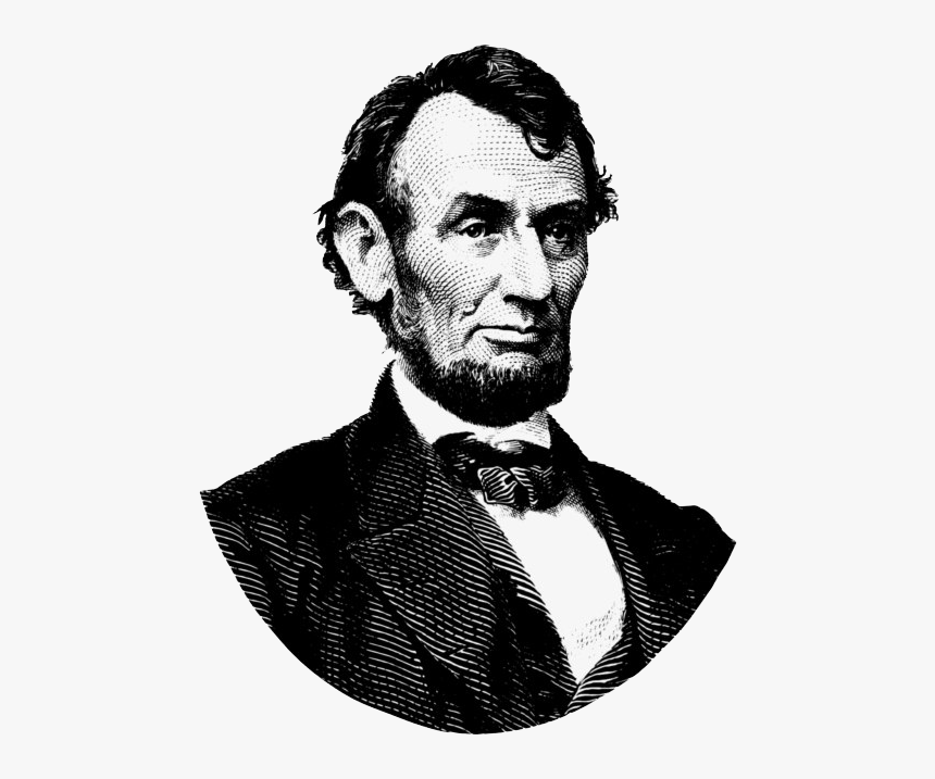 Abraham Lincoln Png File - Abraham Lincoln Png, Transparent Png, Free Download