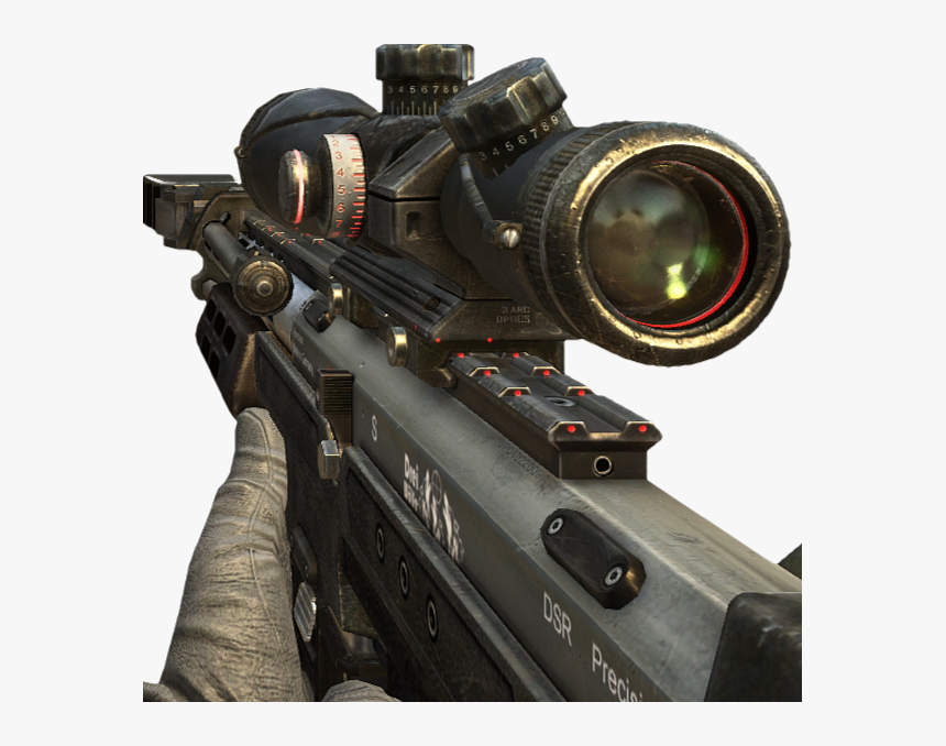 Bo2 Sniper, HD Png Download, Free Download