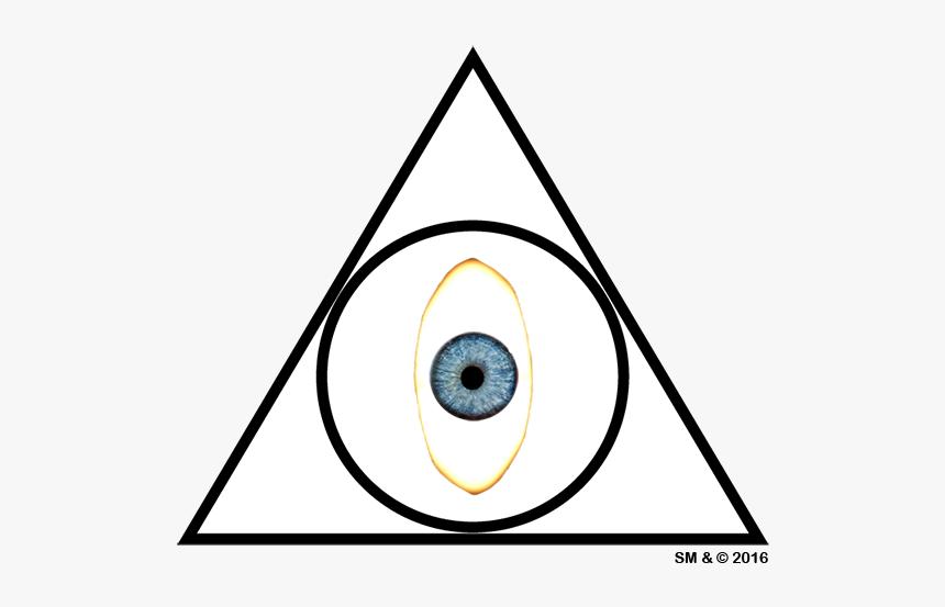 Illuminated Eye Of The Illuminati Church - Circle, HD Png Download, Free Download