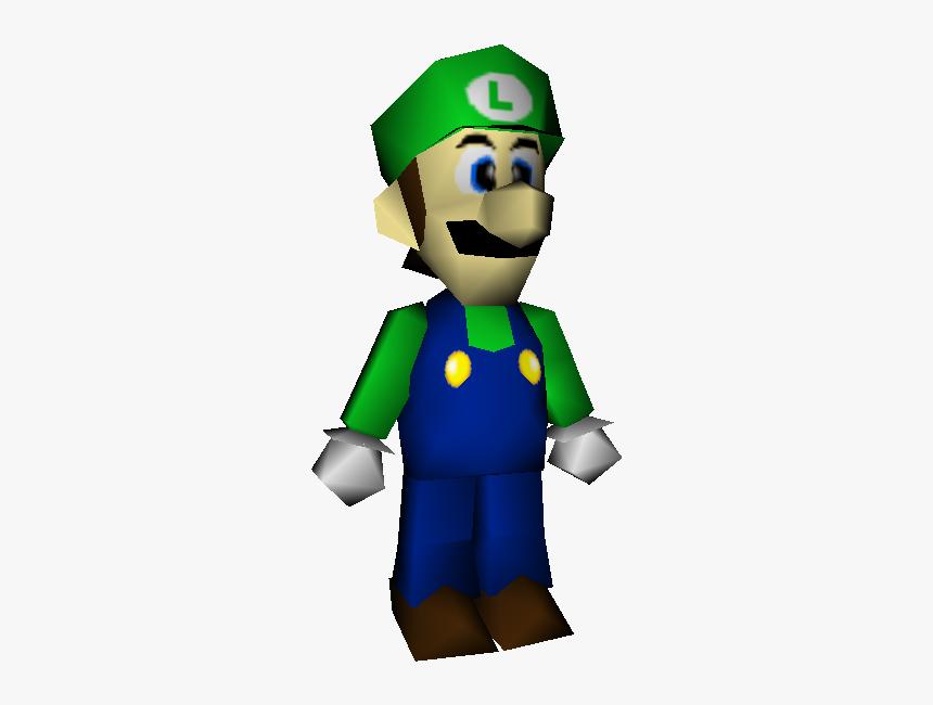 Download Zip Archive Mario 64 Luigi Model Hd Png Download