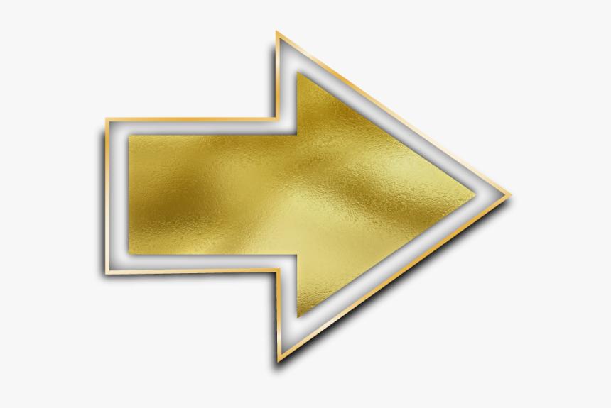 Gold Arrow Png, Transparent Png, Free Download