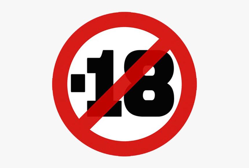 Prohibido Menores De Edad, HD Png Download, Free Download