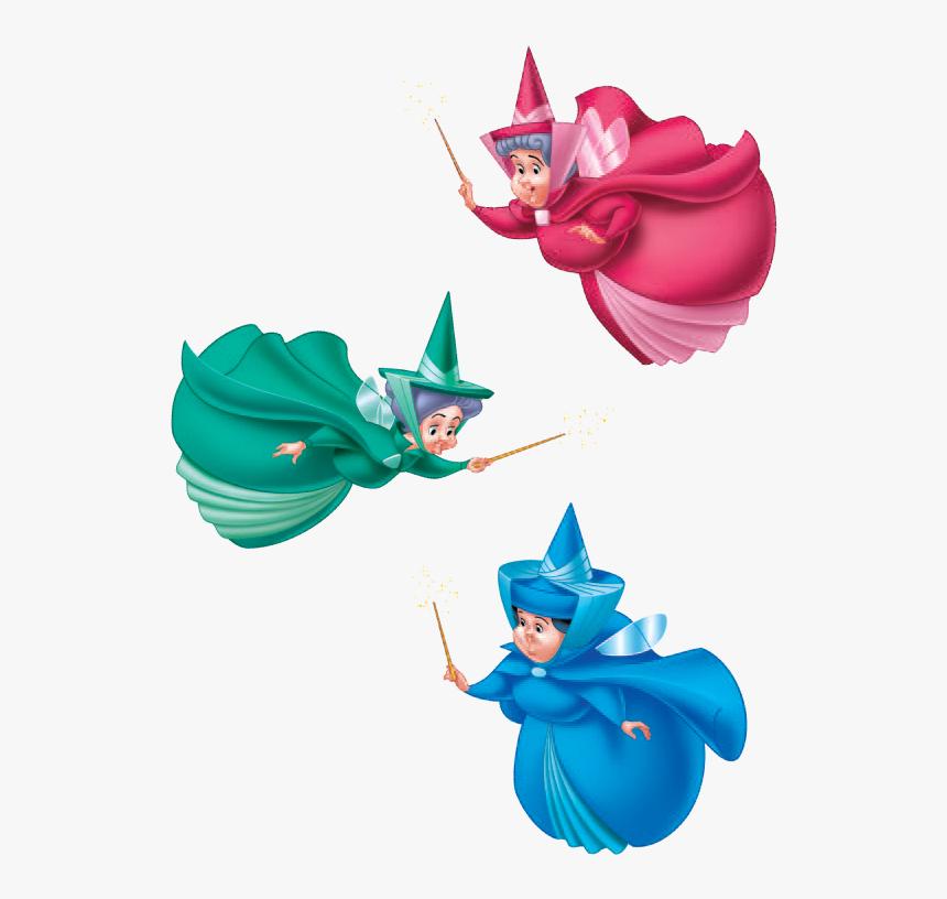 Princess Aurora Disney Fairies Thistletwit The Sleeping - Sleeping Beauty Fairies Png, Transparent Png, Free Download