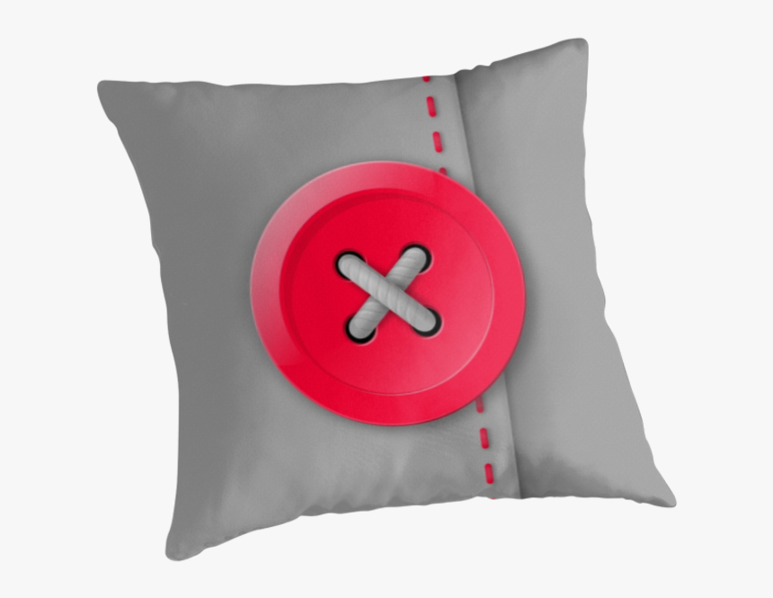 Red X Button Png Download - Cushion, Transparent Png, Free Download