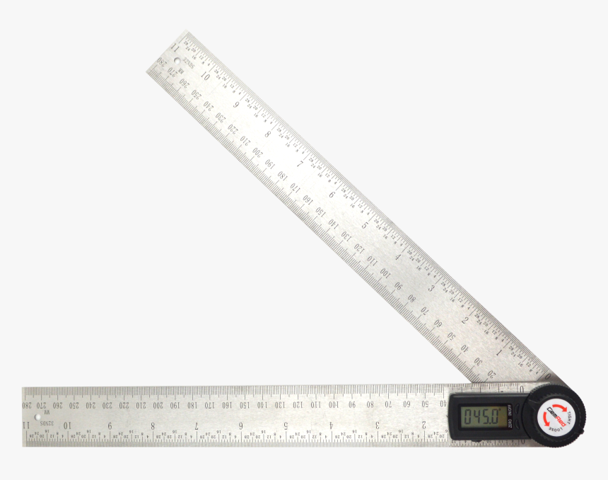 Machinery Tools Angle Measurement Digital Angle Protractor- - Ruler, HD Png Download, Free Download