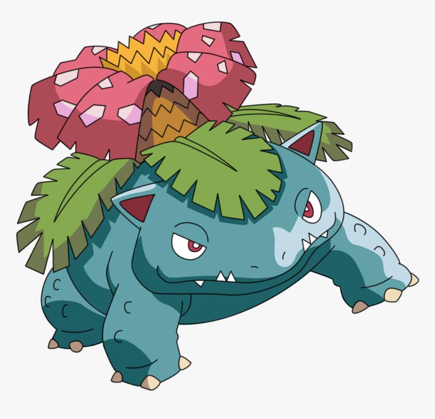 Pokemon Ponies And Animals - Venusaur Png, Transparent Png, Free Download