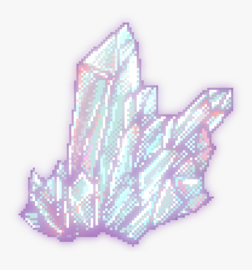 Czbaterka Transparent Glowing Crystal For Your Blog Pixel Art