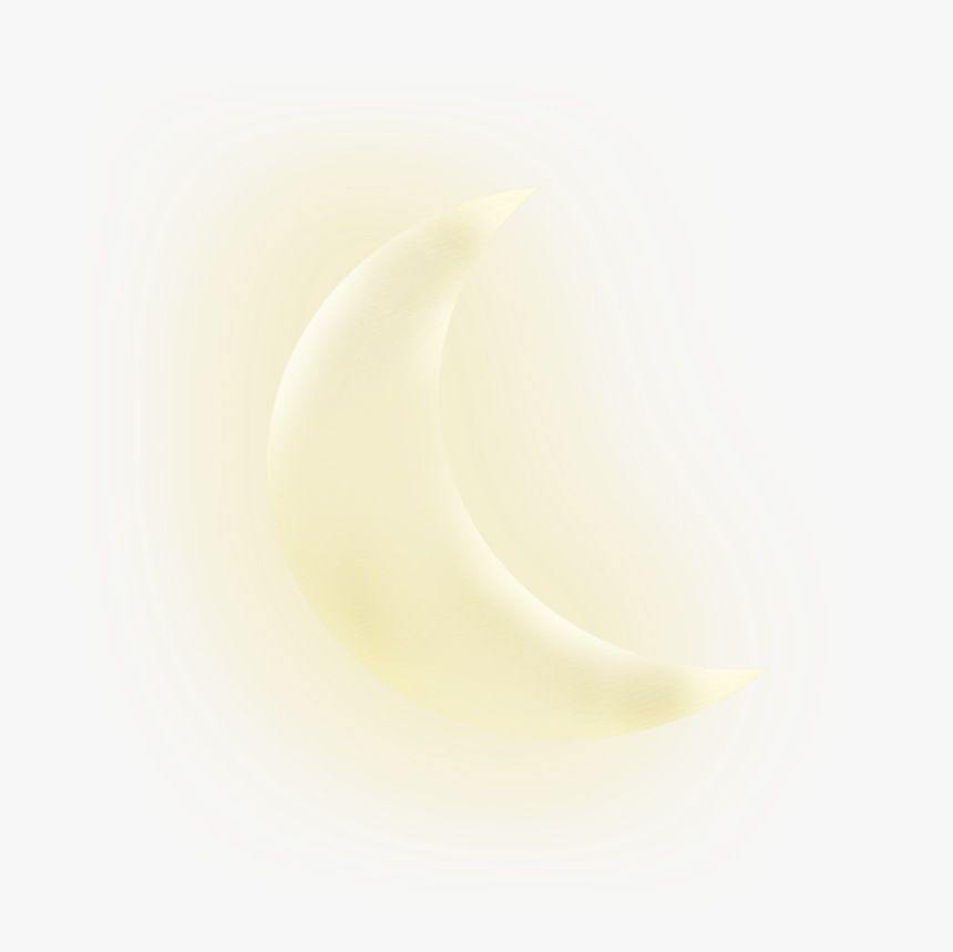 #crescentmoon #glowing #halfmoon #freetoedit - Glowing Crescent Moon Png, Transparent Png, Free Download
